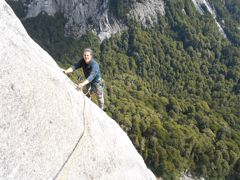 climbing cochamo